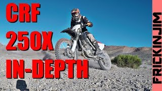 2. CRF250X In-Depth Review