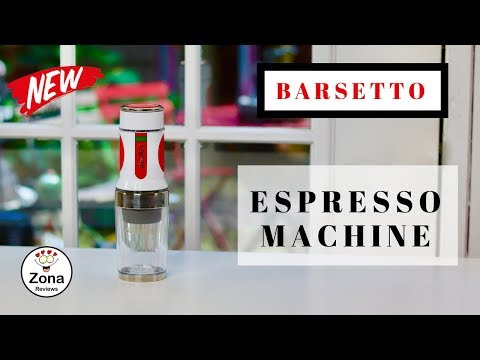 😍 BARSETTO   ❤️   Portable Travel Espresso Coffee Machine - Review  ✅