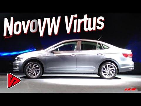 Primeiras Impressoes Novo Volkswagen Virtus Highline 2018 200TSI (Polo Sedan)  |Top Speed