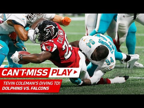 Video: DeVonta Freeman's Sick Run Sets Up Tevin Coleman's Diving TD! | Can't-Miss Play | NFL Wk 6