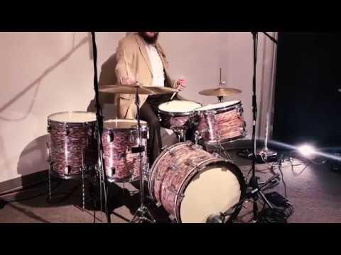 "Steve Maxwell Vintage Drums - AJAX DRUMS! 20/13/14/15/5.5x15"" Check It Out!!"