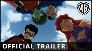 Nonton Justice League Vs  Teen Titans   Official Trailer   Warner Bros  Uk Film Subtitle Indonesia Streaming Movie Download