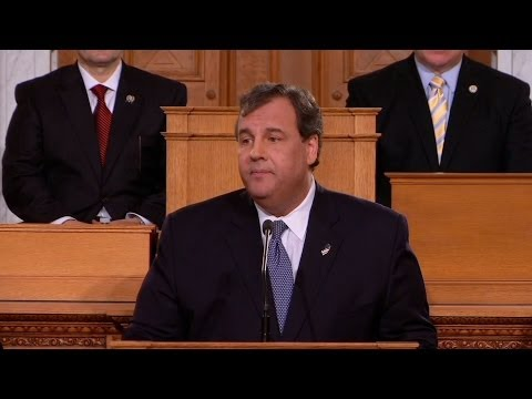 ChrisChristieVideos - NJTV News will provide live coverage of Gov. Chris Christie's State of the State address, scheduled to begin at 3 p.m. A post-address Democratic response is also anticipated to be broadcast.