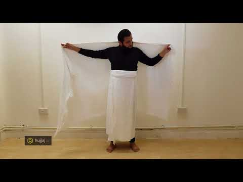 How to Tie Ihram Properly