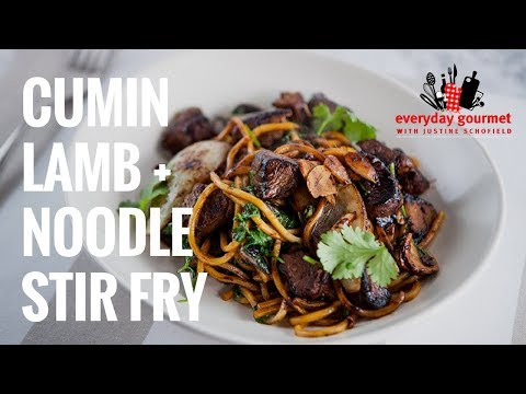Cumin Lamb and Noodle Stir Fry | Everyday Gourmet S7 E13