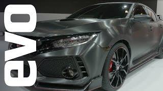 Honda Civic Type-R preview   evo MOTOR SHOWS by EVO Magazine