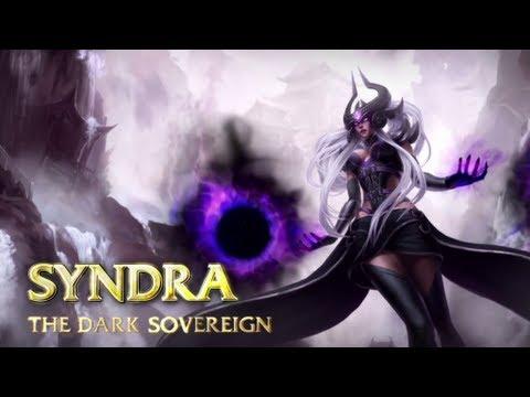 [LoL] Champion Spotlight - Syndra, the Dark Sovereign - Rus