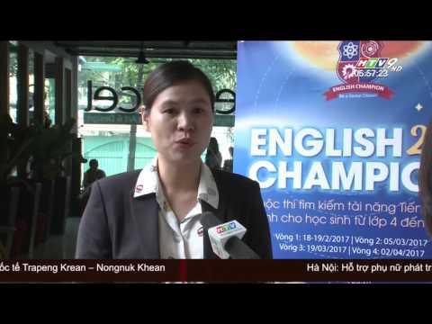 Họp báo English Champion 2017