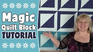 Magic Square Quilt Block Tutorial - In this video, we show you how to make a Magic Square Quilt Block from start to finish. We also have seen it referred to as the Hollow Cube Quilt Block in EQ.  The one in the video makes a 14inch unfinished quilt block but you can adjust the size to suit (instructions on our website).--WRITTEN INSTRUCTIONS HERE--http://www.alandacraft.com/quilt-block-the-magic-quilt-block-tutorial/---WATCH MORE QUILT BLOCK TUTORIALS HERE---https://www.youtube.com/playlist?list=PLMxvvtt3Z3CKZx04rEe8Vod1SP1EX767l---FOLLOW US ON---Website: http://www.alandacraft.comFacebook: http://www.facebook.com/alandacraftPinterest: http://www.pinterest.com/alandacraft/Instagram: http://instagram.com/alandacraftTwitter: http://twitter.com/AlandaCraftTumblr: http://www.tumblr.com/blog/alandacraft