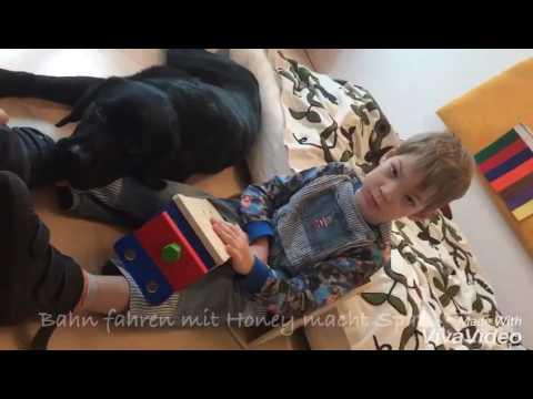 Luka & Therapiehund Ole