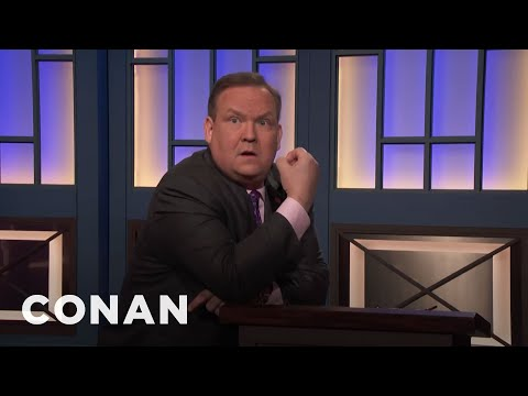 Andy Forgets How To Do His Job  - CONAN On TBS