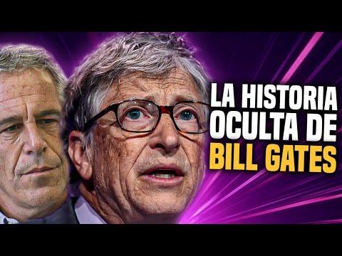 La HISTORIA OCULTA de BILL GATES que nadie se atreve a contar: Es amigo de Jeffrey Epstein...