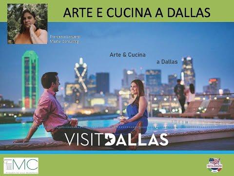 Video ARTE & CUCINA A DALLAS (4-5-2021)