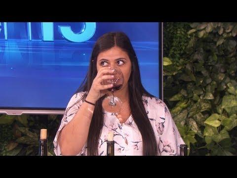 Ellen Tests an Audience Member's Wine Knowledge
