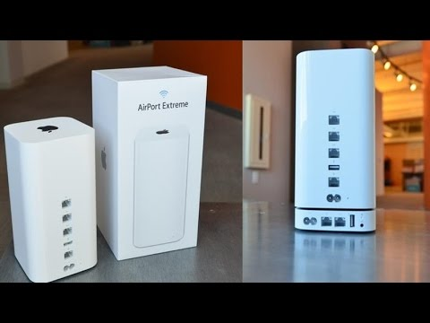 Apple AirPort Extreme Base Station With Simultaneous Dual Band Wireless Access Point