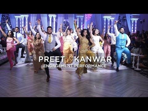 Preet & Kanwar | Epic Engagement Performance
