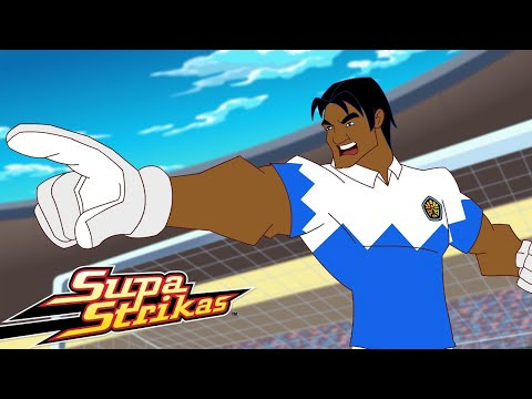 Supa Strikas - Season 1 - Ep 5 - Blasts from the Past - Soccer Adventure Series | Kids Cartoon