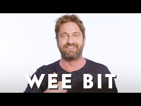 Gerard Butler teaches Scottish slang