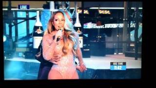 Mariah Carey's tragic NYE performance