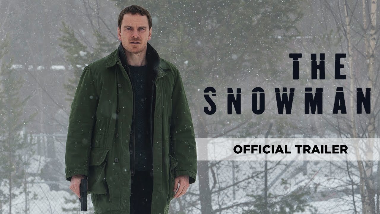 Watch Michael Fassbender &  J.K. Simmons in Chilling Crime-Thriller 'The Snowman' (Trailer) with Rebecca Ferguson