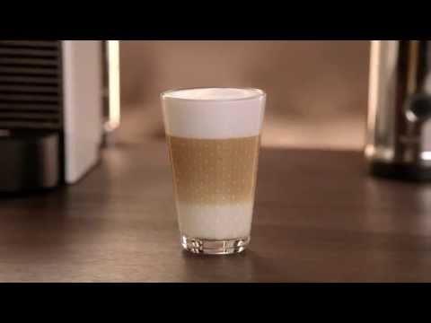 A perfect Latte Macchiato with Nespresso U