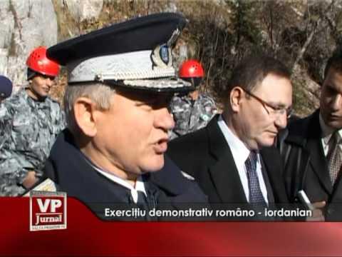 Exrciţiu demonstrativ  româno – iordanian