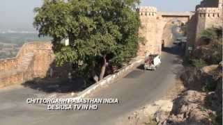 Chittorgarh India  city images : FORT OF CHITTORGARH RAJASTHAN INDIA IN HD