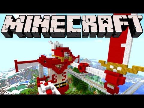 Minecraft - Raptor Bedazord