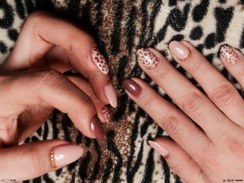 ricostruzione maculata - nail art