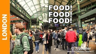 """We are at Borough Market located in London, UK. If you enjoy Food Markets then Borough Market should be added to your list of Top London Attractions to visit. This is a """"No Comments"""" walking tour through the Borough Market where viewers can see and feel the atmosphere of this very famous London Food Market, actually one of London´s oldest markets!Borough Market is located on 8 Southwark Street in London. The market is open from Monday to Saturdays from January to November and in December the Borough Market is also open on Sundays. The market is located very close to the London Bridge Train Station and if you come with the London Underground (the London Tube) you can take the Jubilee or Northern Lines directly to the London Bridge Station. More information about how to get to the Borough Market can be viewed from the Borough Market website.Wiki writes about Borough Market, """"Borough Market is a wholesale and retail food market in Southwark, Central London, England. It is one of the largest and oldest food markets in London. In 2014, it celebrated its 1,000th birthday... The present market, located on Southwark Street and Borough High Street just south of Southwark Cathedral on the southern end of London Bridge, is a successor to one that originally adjoined the end of London Bridge. It was first mentioned in 1276, although the market itself claims to have existed since 1014 """"and probably much earlier"""" and was subsequently moved south of St Margaret's church on the High Street.This footage is filmed exclusively at Borough Market located close to the London Bridge Railway Station (London Bridge Underground) in London, United Kingdom.We are now on Facebook, Instagram and Twitter you can follow us here: https://www.facebook.com/TravellerYThttps://instagram.com/travelleryt1/https://twitter.com/TravellerYTMusic Title """"Blank"""" provided by NCS https://www.youtube.com/watch?v=p7ZsB...Artist: DisfigureFacebook: http://www.facebook.com/DisfigureOfficialSoundcloud: http://www.soun"""