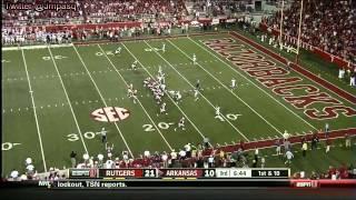 Duron Harmon vs Arkansas (2012)