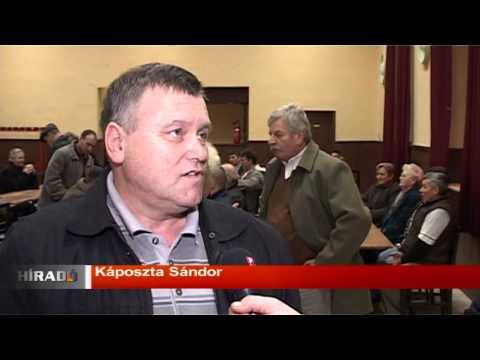 Híradó - A VMSZ lakossági fórumot tartott Kelebián-cover