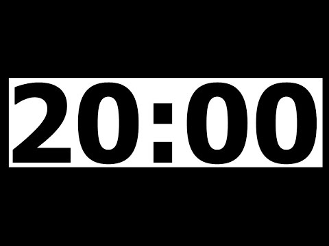 Video 20 Minute Countdown Timer with Alarm download in MP3, 3GP, MP4, WEBM, AVI, FLV January 2017