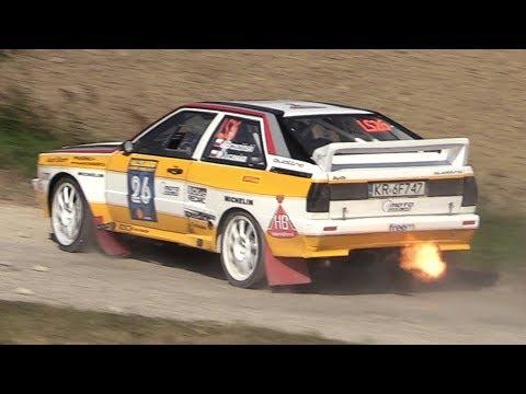 Rally Legend 2017 San Marino - Shakedown Action & Sounds!