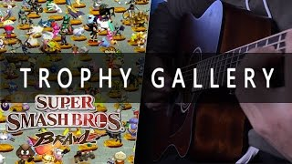 Cover of Trophy Gallery from Super Smash Brawl