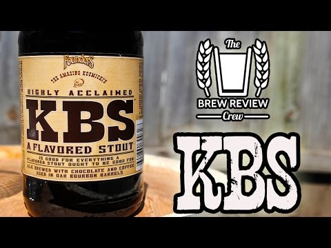 KBS (Kentucky Breakfast Stout) 2014 – Founders Brewing – Brew Review Crew Craft Beer Reviews