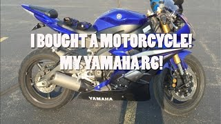 9. I BOUGHT A MOTORCYCLE! My 2007 Yamaha R6!