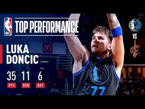 Video: Luka Doncic SHINES In Cleveland | February 2, 2019
