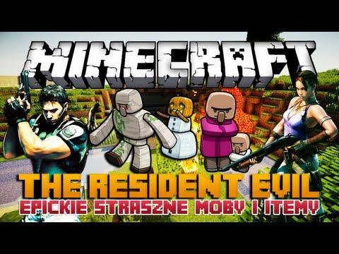 Minecraft 1.6.2 Mody - The Resident Evil Mod - Epickie Straszne Moby i Itemy!