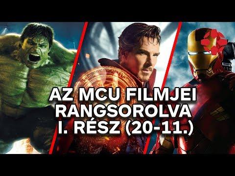 A Marvel Moziverzum filmjei rangsorolva - I. rész (20-11.)_Magyarország, Budapest. Heti legjobbak