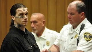 Video Court hears how triple murder suspect who has implanted horns and '666' tattoo ... MP3, 3GP, MP4, WEBM, AVI, FLV Juni 2018