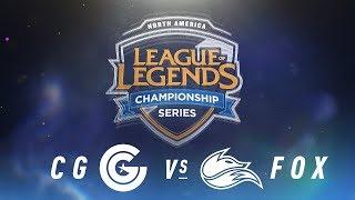 Video CG vs. FOX - Week 8 Day 1 | NA LCS Spring Split | Clutch Gaming vs. Echo Fox (2018) MP3, 3GP, MP4, WEBM, AVI, FLV Juni 2018