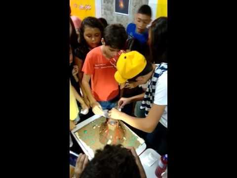 Feira de ciências em Poço Dantas - PB. Escola Rosa Dias do Nascimento