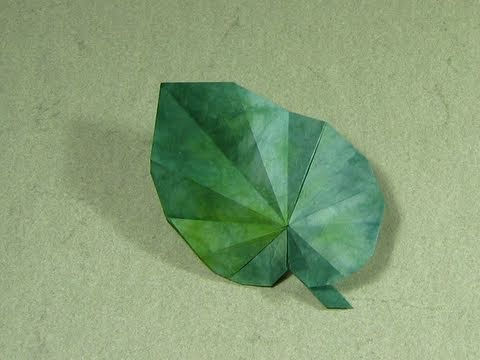 Plant Tutorial - 035 -- Begonia Leaf