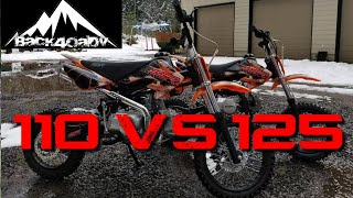 10. SSR 125 SEMI  VS 110 PIT BIKES *PROS AND CONS**