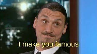 Video MOST SAVAGE INTERVIEWS IN HISTORY OF FOOTBALL ● ibrahimovic, ronaldo.. MP3, 3GP, MP4, WEBM, AVI, FLV Oktober 2018