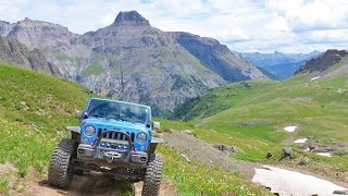 Ouray (CO) United States  city pictures gallery : Governor Basin Trail near Ouray, CO - Colorado 4 Wheeling 7/31/16 Jeep Wrangler Rubicon JKUR