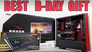 Surprised my brother on his B-day by getting him a full gaming PC setup! ►My other Vlogs: https://goo.gl/SaKZSA ---------------------------------------------...