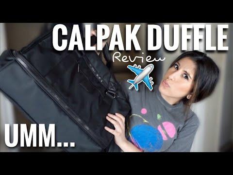 CALPAK STEVYN DUFFEL REVIEW | PERFECT CARRY ON BAG? | TRAVEL ESSENTIALS