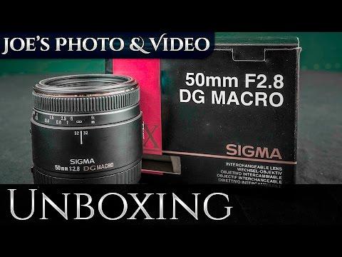 Sigma 50mm f/2.8 EX DG Macro Lens | Unboxing